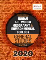 Indian & World Geography and Environmental Ecology for General Studies Paper 1 UPSC Prelim Exam 2020 by Adda247 (Printed Book)