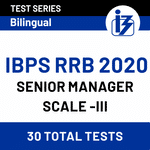 IBPS RRB 2020 Mock Test Series Online for Senior Manager officer Scale III