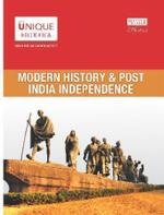 Modern History & Post India Independence for UPSC - With Important Topic of IAS Pre+Mains for Civil Services Examination by Adda247 English Printed Edition