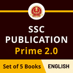 Best Books for SSC CGL, CPO & CHSL Exam 2020 Preparation (SSC Publication Prime in English Printed Edition)