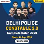 Delhi Police Constable Online Coaching 2020| Complete Bilingual 2.0 Batch by Adda247