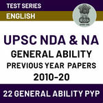 UPSC Previous Year Question Papers: Online Test Series for NDA/NA General Ability & Previous Year Papers (With Solutions) 2009-20 by Adda247