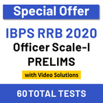 IBPS RRB Test Series 2020 RRB Scale-I Prelims Online Test Series (Special Offer)