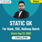 Static General Knowledge Online Classes for Bank, SSC, Railway 2020 | Complete Bilingual Batch by Adda247