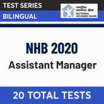 NHB Mock Test 2020 National Housing Bank Assistant Manager Test Series Adda247