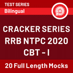 RRB NTPC 2020 CBT-1 Online Test Series (with solutions) Cracker Series by Adda247