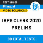 IBPS Clerk Prelims Online Test Series 2020 by Adda247