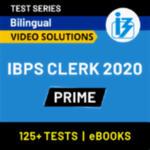 IBPS Clerk Prime Online Test Series 2020 by Adda247