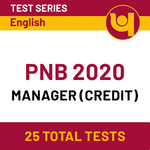PNB SO Online Test Series for PNB Credit Manager Recruitment 2020