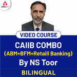 CAIIB Video Lectures for Retail Banking, ABM, BFM | Combo Pack by Adda247