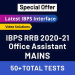 IBPS RRB 2020-21 Online Test Series for Mains (with solutions) Bilingual RRB Office Assistant Mock Test (Special Offer)