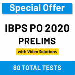 IBPS PO Prelims Online test series 2020 by Adda247 (Special Offer)