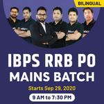 IBPS RRB PO Batch 2020 | BIlingual Live Classes