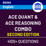 Book Combo for Bank Exams 2021 | Ace Quant & Ace Reasoning (English Printed Edition)