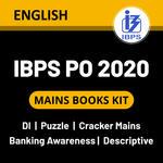 IBPS PO Mains 2020 Books Kit (English Medium)