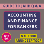 Accounting & Finance Books for Bankers (English Medium) - Guide to JAIIB 16th Edition by Adda247