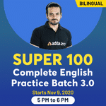 Super 100 Complete English Practice Batch 3.0 | Bilingual | Live Class
