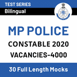 MP Police Constable 2020 Online Test Series