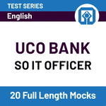 UCO Bank SO IT Officer 2020 Online Test Series