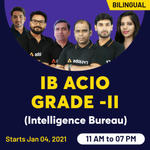 Intelligence Bureau ACIO Online Live Classes for Grade -II | Complete Bilingual Batch by Adda247 For Tier 1 Exam