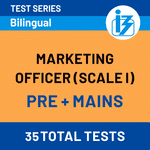 IBPS SO Marketing Scale-I Prelims + Mains Online Test Series 2020/21