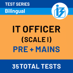 IBPS SO IT Scale-I Prelims + Mains Online Test Series 2020/21