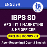IBPS SO Exam Books Kit (IBPS SO Agriculture | IT | Marketing | HR Officer Prelims 2020-2021 (English Printed Edition)