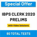 IBPS Clerk Prelims Online Test Series 2020 by Adda247 Special Offer