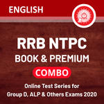 RRB NTPC Book & Premium Online Test Series for Group D, ALP and others Exams 2020 English Edition