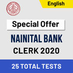 Nainital Bank Mock Test 2020 Bank Clerk Online Test Series Adda247 (Special Offer)