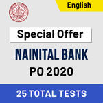 Nainital Bank Mock Test 2020 Bank PO Online Test Series Adda247 (Special Offer)