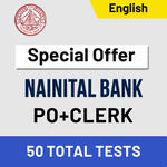Nainital Bank Mock Test 2020 Bank PO & Clerk Online Test Series Adda247 (Special Offer)