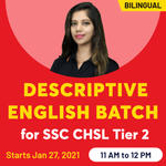 SSC CHSL Descriptive English Online Coaching Classes for Tier 2 | Complete Bilingual Batch by Adda247