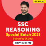 SSC Reasoning Special Batch 2021 | Bilingual Live SSC Reasoning Classes | Learn Reasoning for SSC with the best SSC Reasoning Coaching by Adda24