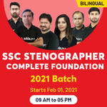 SSC Stenographer Online Coaching | Complete SSC Stenographer Online Course Foundation 2021 Batch by Adda247