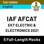 IAF AFCAT EKT Electric & Electronics 2021 Online Test Series