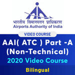 Airport Authority of India (ATC) Video Course for Non-Technical Part-A by Adda247