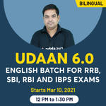 Udaan 6.0 English Batch for RRB, SBI, RBI and IBPS Exams | Bilingual Live Classes By adda247