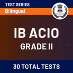 IB Assistant Officer Grade-II Mock Tests for 2020-21 | Online Test Series for Intelligence Officer by Adda247