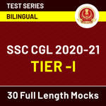 SSC Mock Tests 2020-21 - Bilingual Online Test Series (With Solutions) for CGL Tier -1 by Adda247