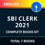 SBI Clerk Complete Books Kit 2021 (English Printed Edition) By ADDA247