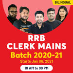 RRB Clerk Online Coaching Classes for Mains 2021 | Complete Bilingual Batch by Adda247