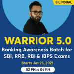 WARRIOR 5.0 Batch for SBI, RRB, RBI and IBPS Exams  Banking Awareness Online Coaching | Bilingual