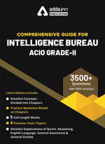 Book for Intelligence Bureau ACIO Grade-II 2020-2021 Exam English Medium Guide by Adda247