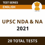 UPSC Mock Test for NDA & NA 2021 (With Solutions) - English Medium Test Series by Adda247