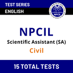 NPCIL Civil Scientific Assistant Mock Tests for 2020-2021 by Adda247