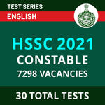 Haryana Police Mock tests Complete Online Test Series for HSSC CONSTABLE 2021 in English by Adda247