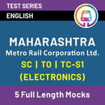 Online MMRCL Mock Test 2021 | Best Test Series for MMRCL Electronics Engineer | MAHARASHTRA METRO RAIL CORPORATION LTD SC/TO/TS-1 by Adda247