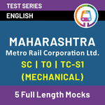 Online MMRCL Mock Test 2021 | Best Test Series for MMRCL Mechanical | MAHARASHTRA METRO RAIL CORPORATION LTD SC/TO/TS-1 by Adda247