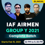 Indian Airforce Group Y Online Coaching | IAF Coaching for Airmen Group Y | Complete Bilingual Live Classes by Adda247